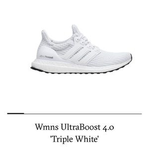 Women's Ultraboost 4.0 Triple White
